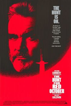 Hunt for Red October - Click image to find more Film, Music & Books Pinterest pins