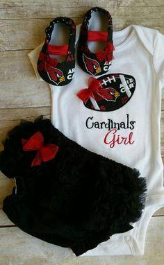 Arizona Cardinals Baby Gift Set