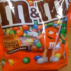 Peanut butter M & Ms
