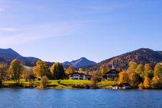 Autumn at Tegernsee, Germany