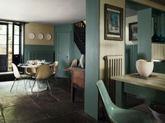 Farrow and Ball, Decorating with Color, Jon Nicolson, Spitalfields | Remodelista