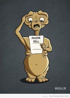 La factura telefónica de ET
