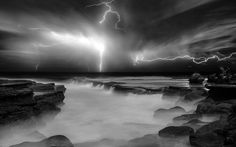 Storm Light II by Jimmy -