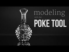 TIP - Modeling with the Poke Tool - YouTube