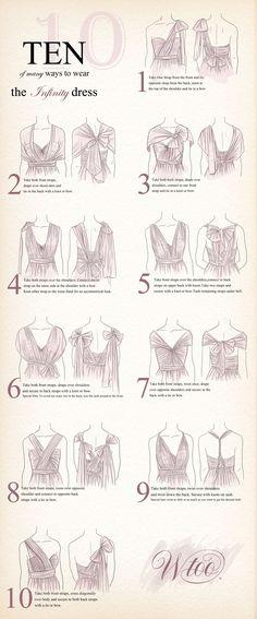 Ten of many ways to wear the Infinity Dress | Watters.com