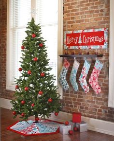 Nite Before Christmas Collection Pattern by | Laurie Wisbrun, via Flickr