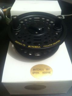 ONE NEW IN BOX, NOS. GARCIA MITCHELL SPARE SPOOL FOR FLY REEL 762 Fly Reels, Fishing Reels, Box, Pinwheels, Boxes