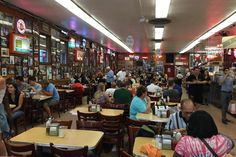 """I'll have what she's having"" is one of the best movie lines ever from the film When Harry Met Sally. The scene was filmed with the couple eating at the famous Katz's Delicatessen at 205 E. Houston St. Since 1888, they are famous for their corned beef, pastrami and brisket. It is huge and has a fun atmosphere. It is well worth the visit for a great NYC experience. #globalphile #travel #tips #destinations #lonelyplanet #newyork #nyc #usa http://globalphile.com/destination/new-york-new-york/"
