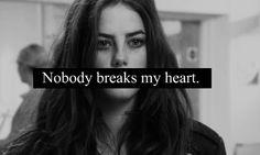 Effy Stonem - Nobody breaks my heart.