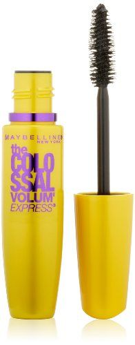 awesome Maybelline New York The Colossal Volum' Express Washable Mascara, Classic Black 231, 0.31 Fluid Ounce