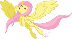 fluttershy standing with wings open - Google Search