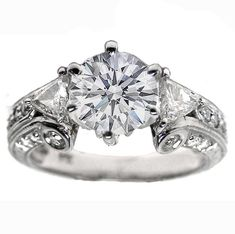 Unique Engagement And Wedding Rings   Vintage Engagement Rings (14)