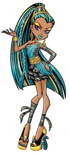 Nefera de Nile's the older sister of Cleo de Nile and a Monster High… Tortas Monster High, Monster High Wiki, Arte Monster High, Monster High School, Monster High Birthday, Love Monster, Monster High Repaint, Monster High Dolls, Monster Art