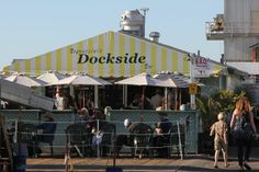Dockside, Morro Bay, California (my grandparents LOVE this place!)