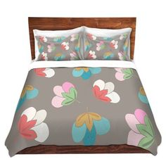 DiaNoche Designs Duvet Cover Brushed Twill Twin, Queen, King Sets by Maria Bautista - Cotton Blooms Bedroom and Bedding Ideas Bedding And Curtain Sets, Matching Bedding And Curtains, King Bedding Sets, Luxury Bedding Sets, Hotel Collection Bedding, Bedding Websites, Bedding Sets Online, Bed Linen Sets, Urban