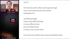 """""""Can't Black Lives Matter Too???"""" 