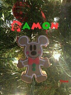 Ramon feliz navidad mickey by tink