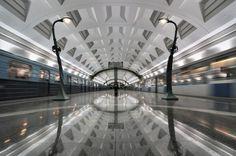 Russia - Slavyansky Bulvar Station