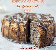 Makowiec bezglutenowy, bez zbóż, cukru, paleo. Samo ciasto jest pyszne, miękkie oraz soczyste. Robi się go szybko i prosto, czyli tak jak powinno być.