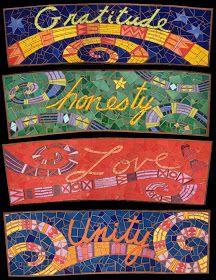 Kim Larson Art, Mosaics + More: Mosaic Benches in Willow Park, Oakland