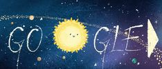 With the 2018 Geminids set to peak Thursday night, the slideshow doodle traces the meteor shower's journey from the sun. Happy Birthday Google, Happy Birthday Images, Birthday Doodle, 21st Birthday, Google Doodles, Doodle Images, Meteor Shower, Shower Time, Santa Lucia