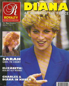 Mouse over image to zoom Have one to sell? Sell it yourself Details about  PRINCESS DIANA UK Royalty Magazine Vol 11 No 11 SARAH FERGUSON
