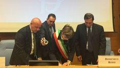 Montecitorio, firmato protocollo tra parlamento della legalità e Comune di Corleone