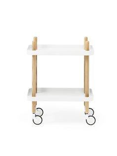 Block Table – White | TINGE.co - $411.90