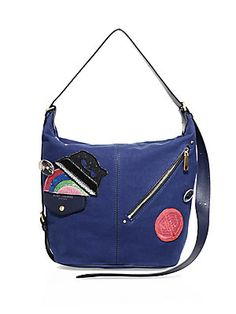 0a5073aff90ae The Marc Jacobs Rummage Wool Small Messenger features this seasons ...