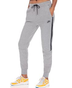 Nike Tech Fleece Sweatpants - Pants - Women - Macy's Source by meltzerseltzer Nike Outfits, Sport Outfits, Casual Outfits, Summer Outfits, Women's Leggings, Leggings Are Not Pants, Athletic Outfits, Active Wear For Women, Sportswear