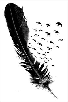 Aves falso tatuajes y tatuajes temporales