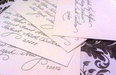 "Gorgeous hand writing (lots of variations of this ""font"" in this post)"