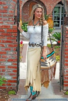 Cowgirl Chic, Western Chic, Cowgirl Style, Gypsy Cowgirl, Boho Gypsy, Mode Country, Estilo Country, Country Girls, Cowgirl Dresses