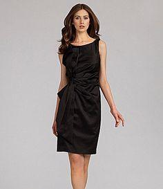 rehearsal? JS Collections Sleeveless Satin Dress #Dillards