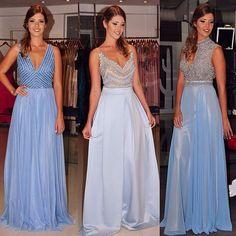 1,2 ou 3? #vestidodefesta