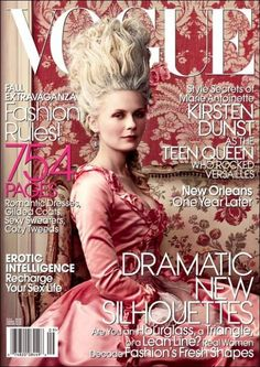 """One of the best: Kirsten Dunst Photographed by Annie Leibovitz - Editorial:  """"Teen Queen"""" for Vogue US, September 2006"""