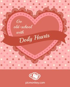 Remember making hearts with doilies when you were a kid? Check out our tips and tricks on using doilies and other two color overlays on our blog!