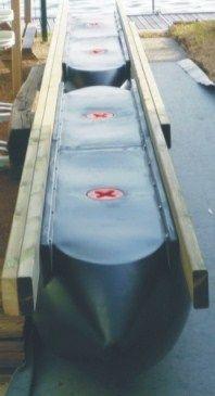 Floating solution, easy float polyethylen for construction platform, pontoon, dock. Floating Pontoon, Floating Dock, Floating House, Pontoon Dock, Boat Dock, Pontoon Boats, Motorized Kayak, Prefab Cottages, Truck Bed Tent