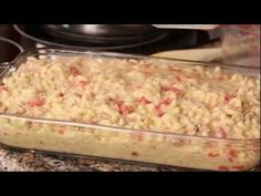 Kids and adults alike will love this classic, creamy macaroni and cheese casserole made super with the addition of lean ground Ontario Turkey. Macaroni And Cheese Casserole, Creamy Macaroni And Cheese, Food Videos, Recipe Videos, Turkey Recipes, Ethnic Recipes, Crockpot Mac And Cheese