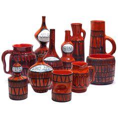 Roger Capron ceramics