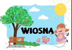 Pory roku - plansze do druku i wykorzystania - Pani Monia Diy And Crafts, Crafts For Kids, Polish Language, Pokemon Coloring Pages, Butterfly Art, Special Education, Kids And Parenting, Montessori, Activities For Kids