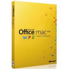 Licencia Office Hogar y Estudiantes 2011 para MAC Caja  $230000