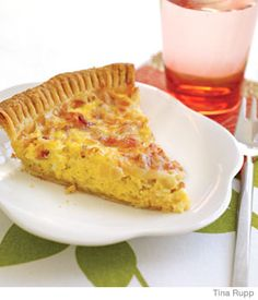 Quickie Quiche - Parenting.com/ATTRACTS: Blue Jays. Serve this to me for an extra treat.