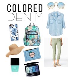 """Colored Denim"" by cherishperkins ❤ liked on Polyvore featuring Rails, Dollhouse, Vera Bradley, Skinnydip, Casetify, Old Navy, Butter London and Christian Dior"