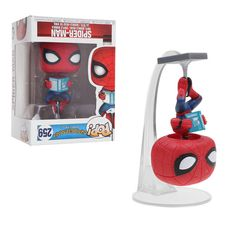 Funko Pop Spider-Man: Homecoming # 259 con Book Vinyl Figure Collection Toys Gift Contiene un … Funko Pop Marvel, Funko Pop Spiderman, Spider Man Funko Pop, Marvel Pop Vinyl, Pop Vinyl Figures, Funko Pop Display, Display Shelves, Display Ideas, Tom Holland