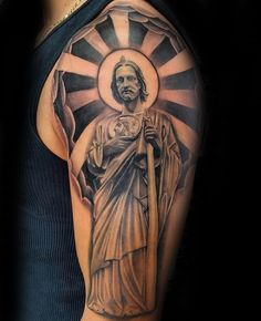 Tatuajes De San Judas Tadeo A Color : tatuajes, judas, tadeo, color, Virgencita