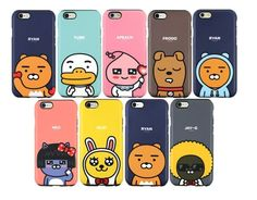 Kakao Friends Cutie Double Bumper Phone Case Cover For Galaxy S6-S7Edge/Note 4-5