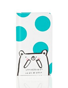 Contemporary Bear and Polka Dot Notebook Home. http://www.marksandspencer.com/