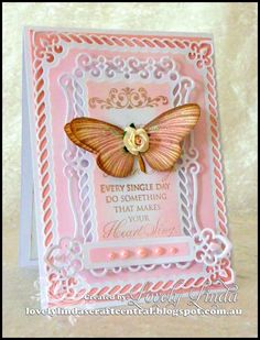 Lovely Linda's Craft Central!!: Spellbinders Newly Released Valiant Honor Die