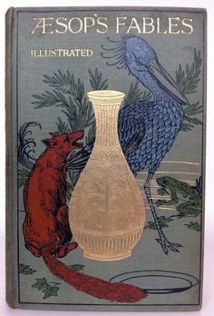 Aesop's Fables 1910 #lit #book #reading #aesop
